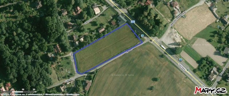 Prodej stavebního pozemku 8296 m²