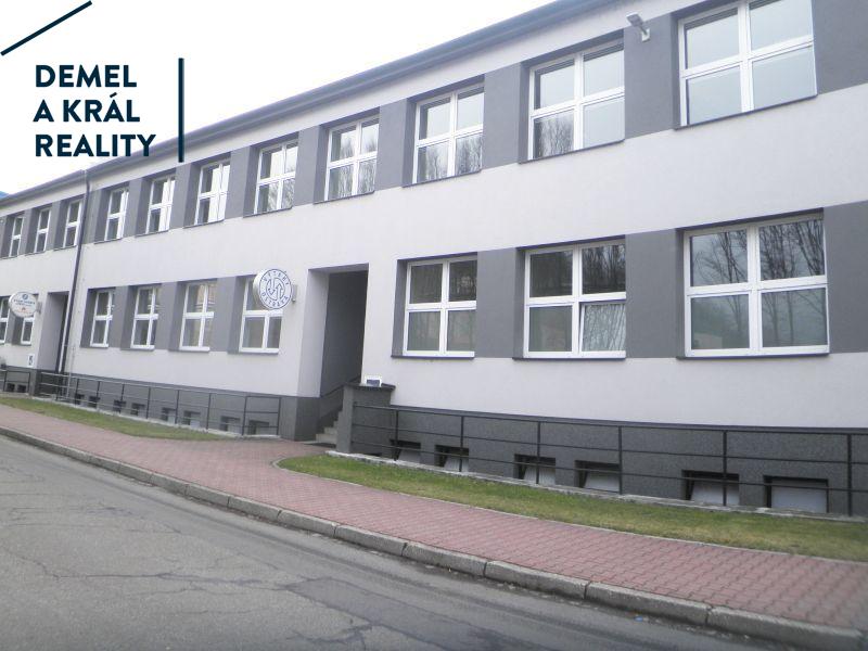 Pronáj., zaříz. kancel. 2. NP, 118 m², OV Přívoz, Teslova