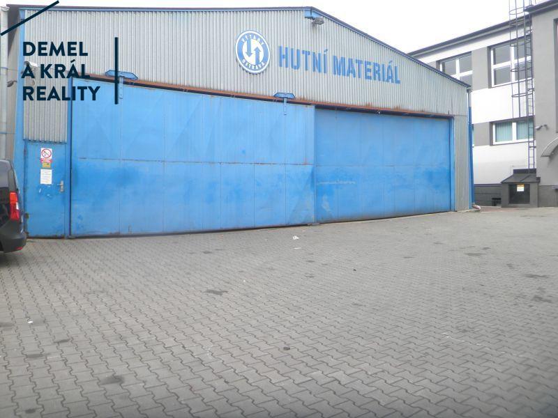 Pronájem, ocelové sklad. haly, 477 m², OV, Přívoz, Teslova