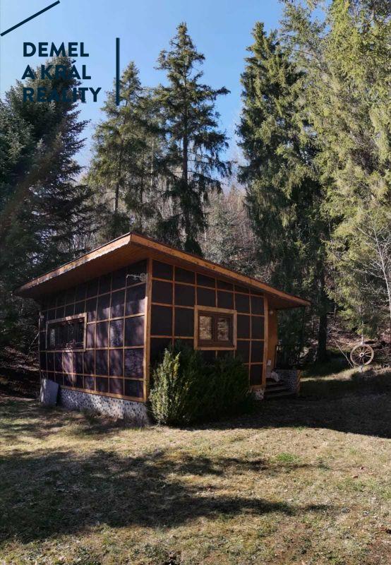 Prodej chaty na polosamotě v lese, obec Hlubočec, Opava.