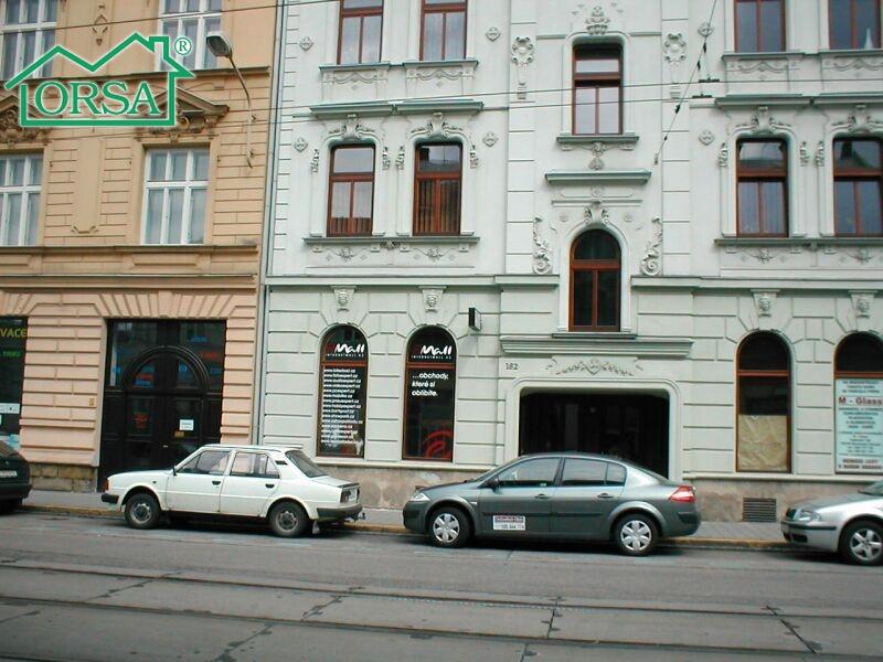 Pronájem obchodních prostor 42 m2 - ul. Nádražní, OV.